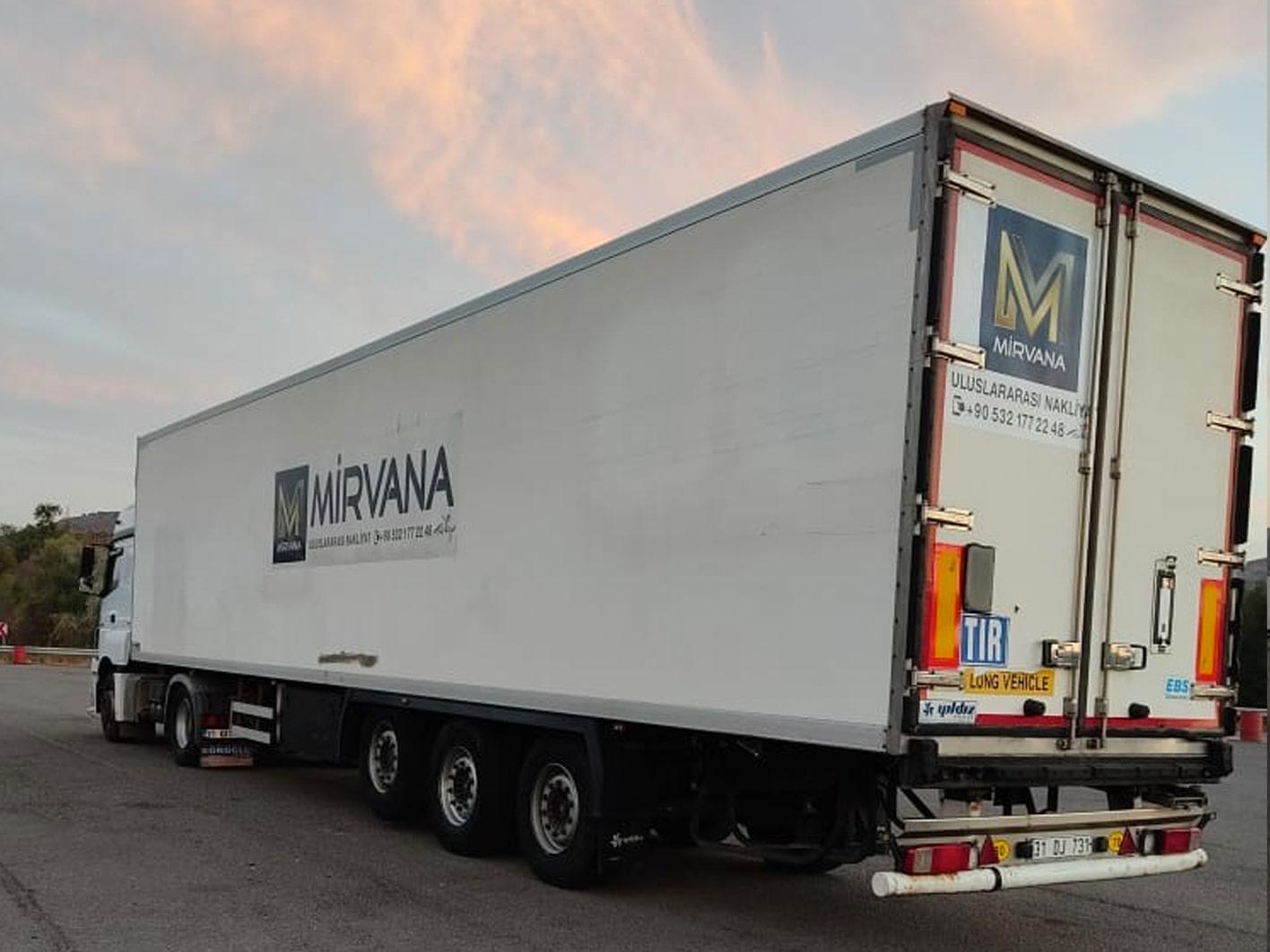 Mirvana Taşımacılık Nakliyat